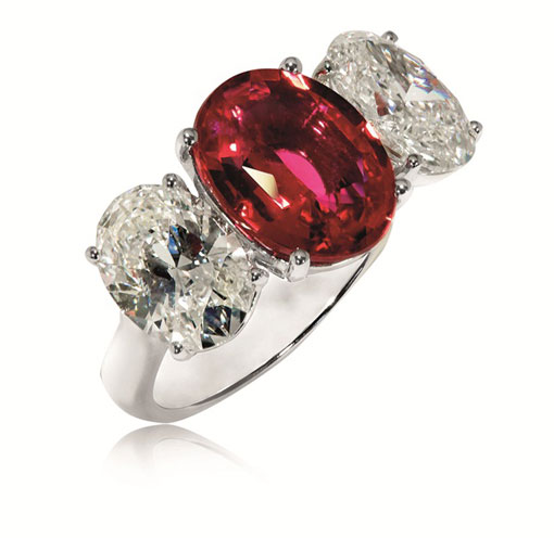 Ruby ring - Jemme