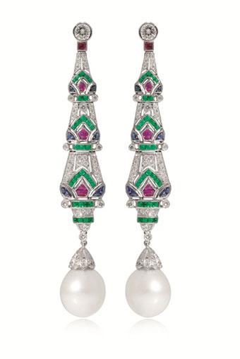 St Sea Pearl earrings - Jemme
