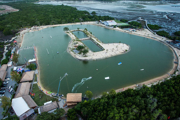 Bali Wake Park bird view