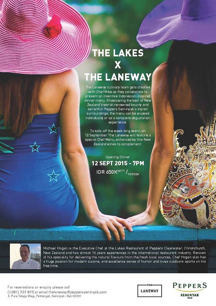 The Lakes X The Laneway- 12 Sept 2015