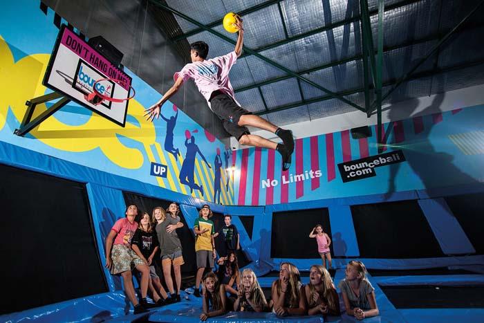 Bounce Trampoline - Indoor Activities  Raining in Bali