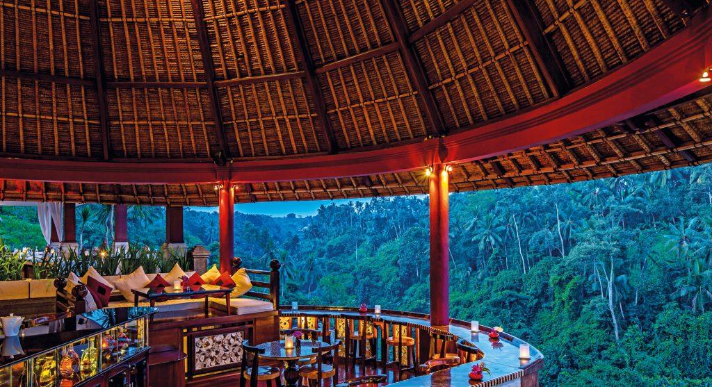 Cascades Restaurant Viceroy Bali
