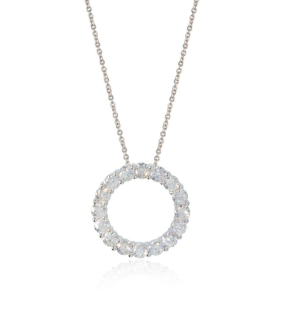 Diamond Eternity Pendant