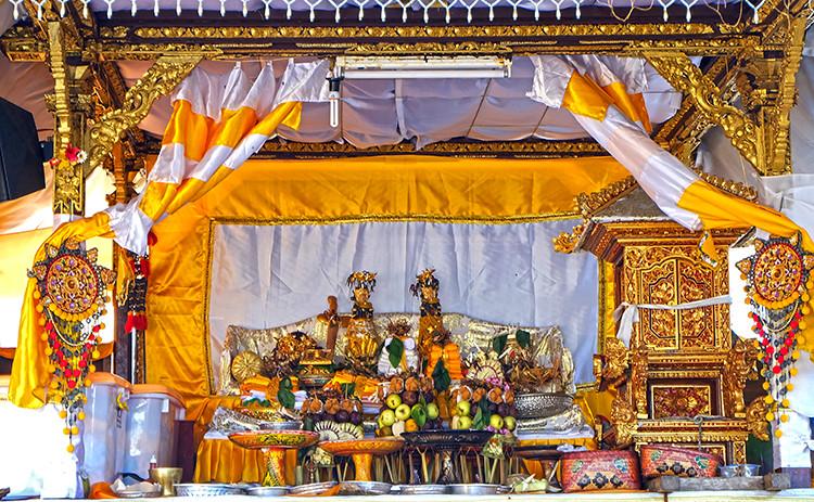 Hari Pagerwesi Day Bali