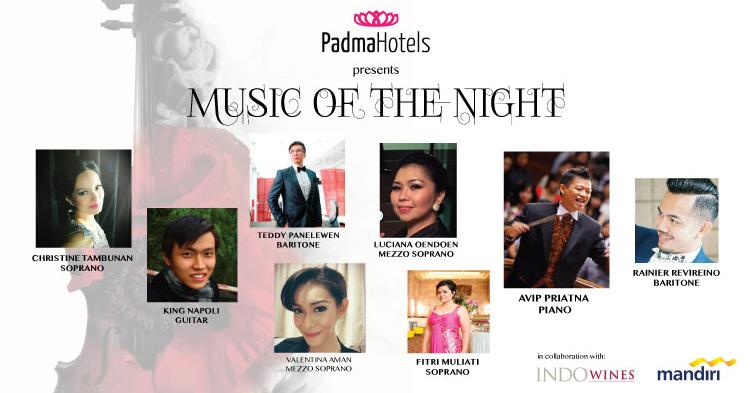Music of the night at Padma Bali