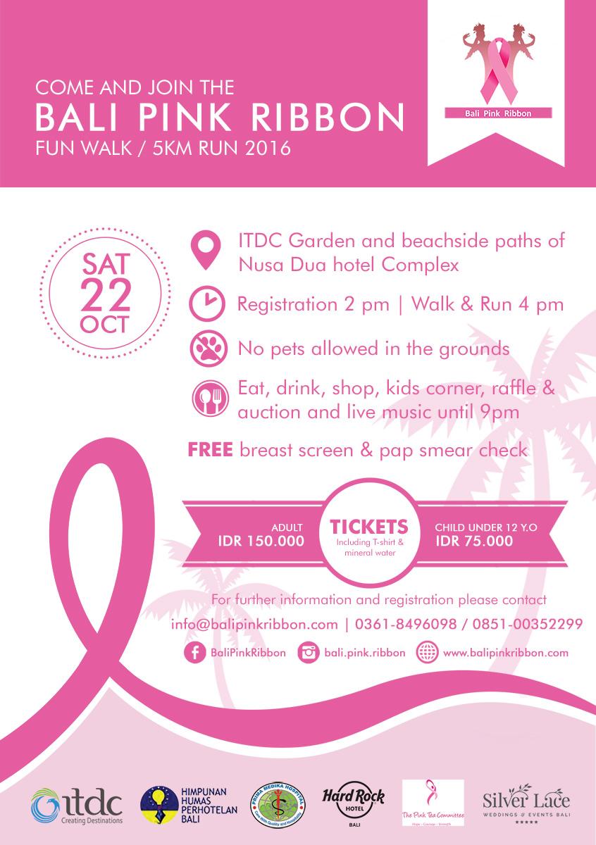 Bali Pink Ribbon Fun Walk and Run