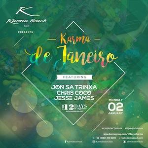 karma beach club 12 days of karma