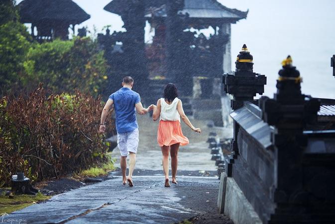 Raining in Bali