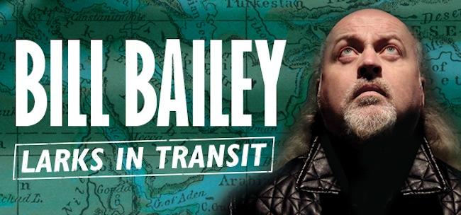 bill bailey larks in transit bali comedy