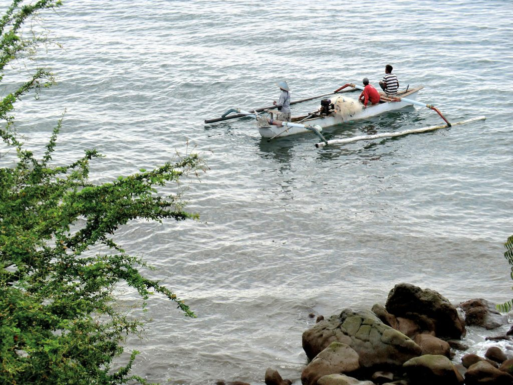 Fisherman in West Bali