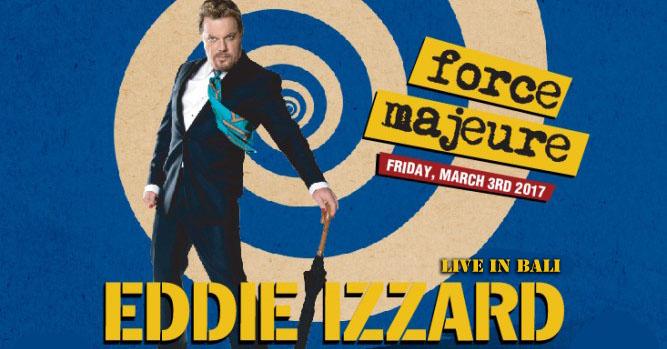 Eddie Izzard Live in Bali