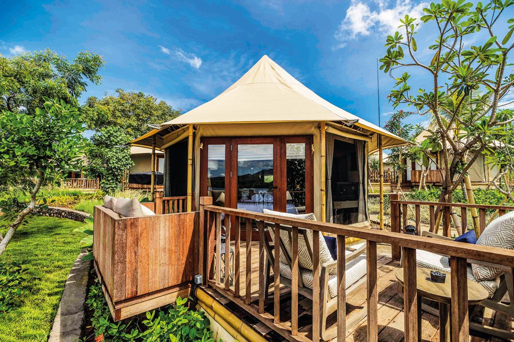 Theme---WTG---Glamping---Menjangan-Dynasty-Resort---Beach-Camp-Tent-Exterior