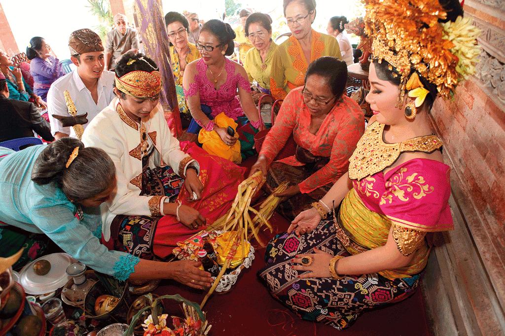 Wedding of Ksatria or Knight Caste