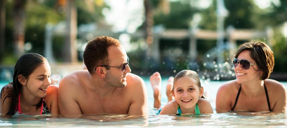Four Points Kuta Family Fun in the Pool