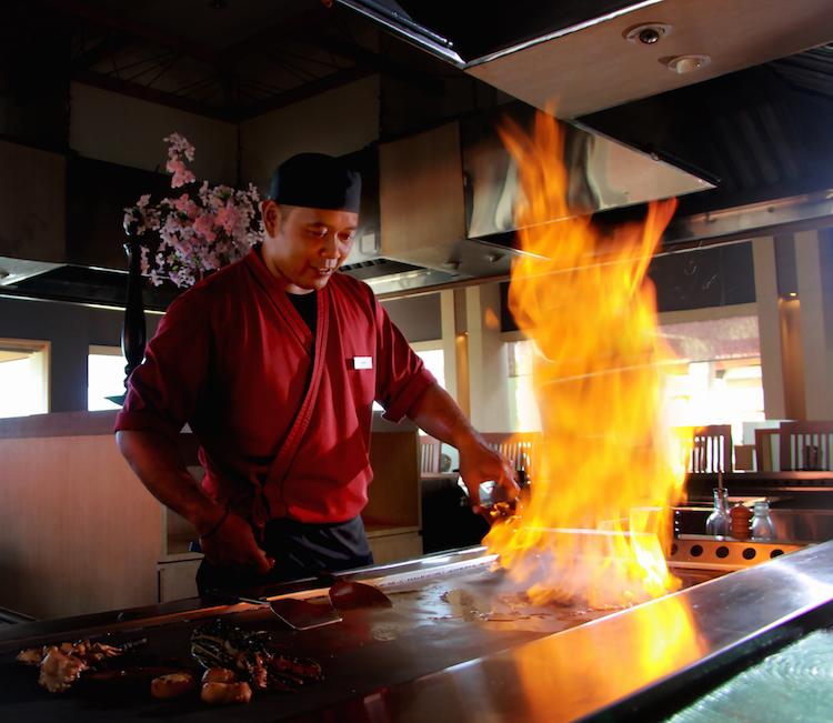 Shiki Hilton Bali Resort Teppanyaki