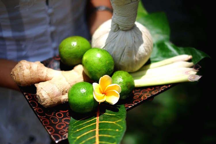 Thai Herbal COmpress Dewi Sri Spa Ubud Ayung Resort