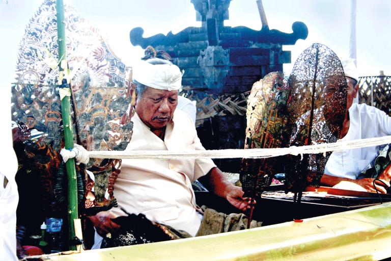 Tumpek Wayang Balinese Ceremony