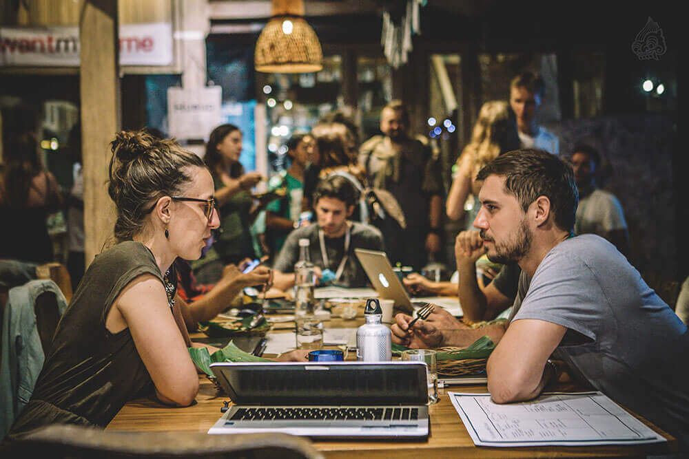 Hubud Coworking Space in Bali