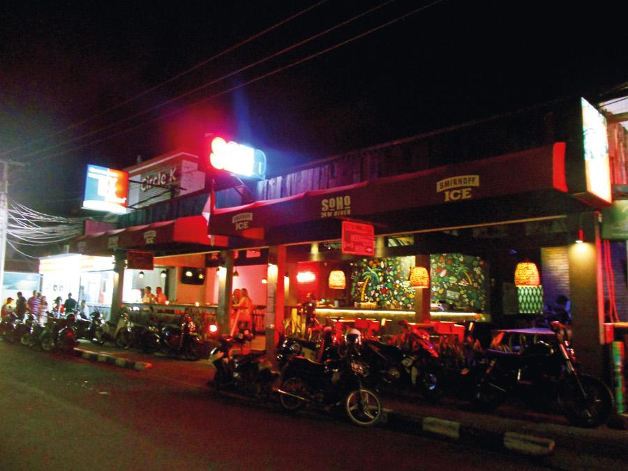 Soho Bali 24 hour restaurant seminyak