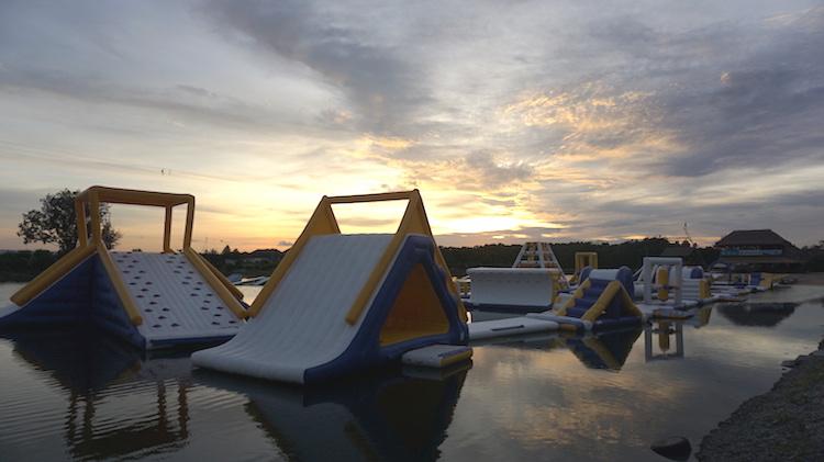 Aqualand Bali Wake park 3