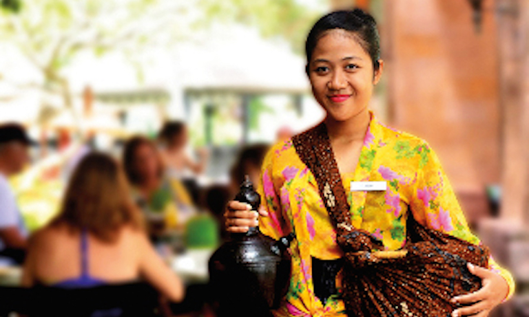 Jamu Breakfast Intercontinental Resort Bali