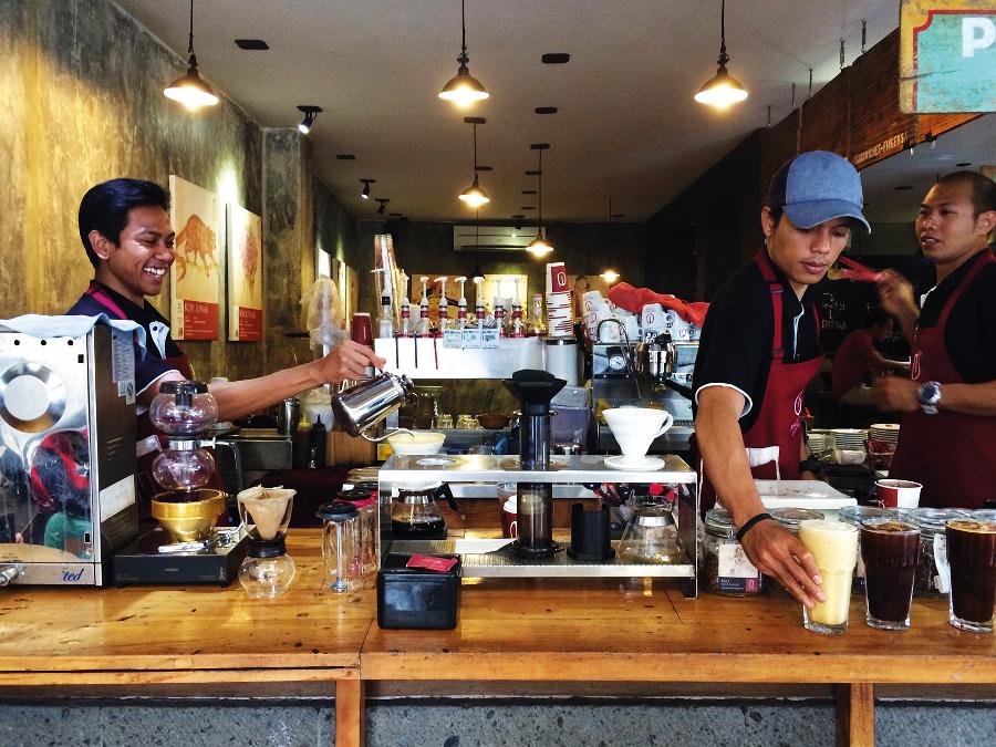 Bali Cafes Anomali Seminyak Ubud Coffee