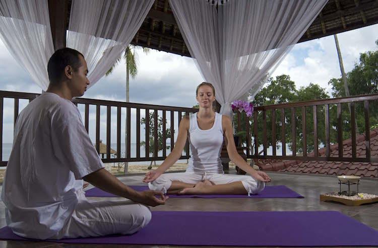 Chinese New Year in Jimbaran InterContinental Bali Resort Yoga
