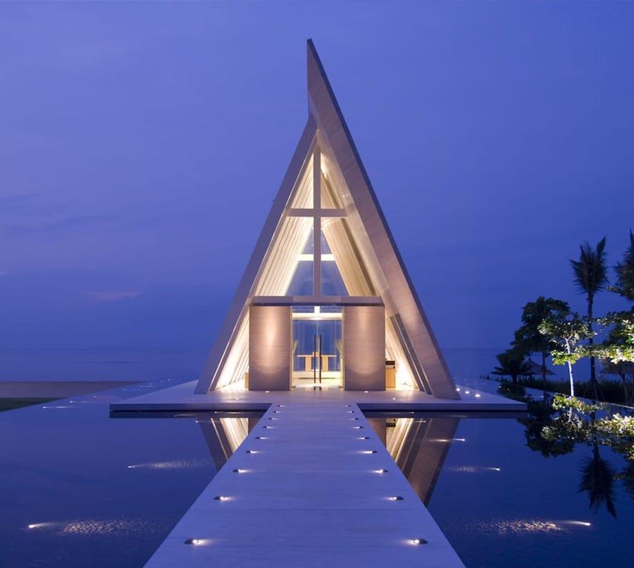 Wedding Chapels in Bali Conrad Bali