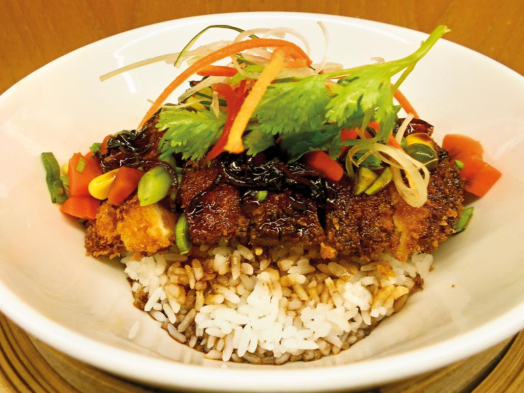 Donburi Chicken Katsu