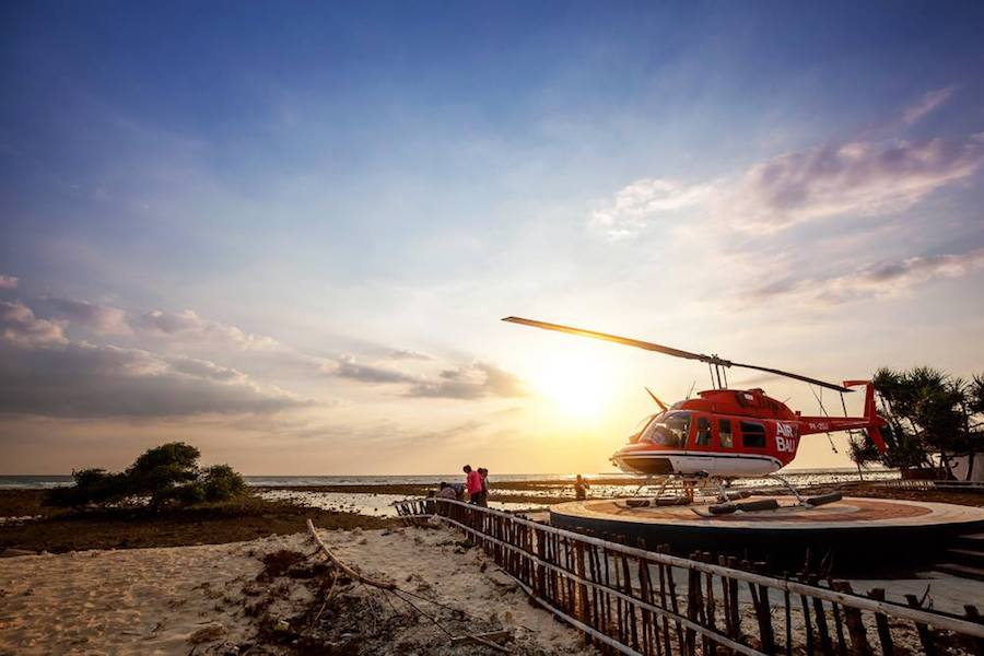 Air Bali Helicopter Fastest Way to Gili Trawangan 2