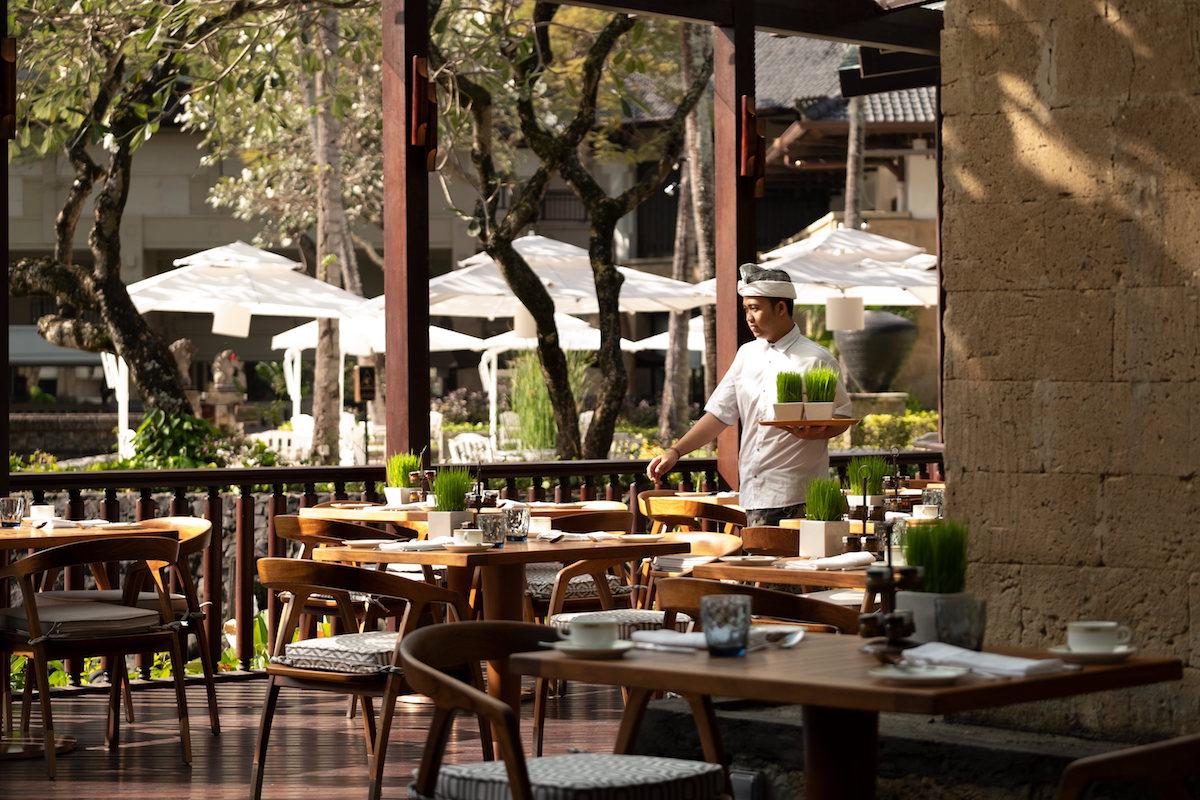 Taman Gita InterContinental Restaurant Jimbaran Sunday Brunch