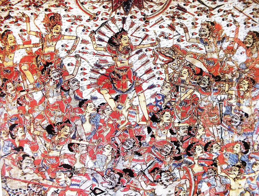 Balinese Art Kamasan Painting