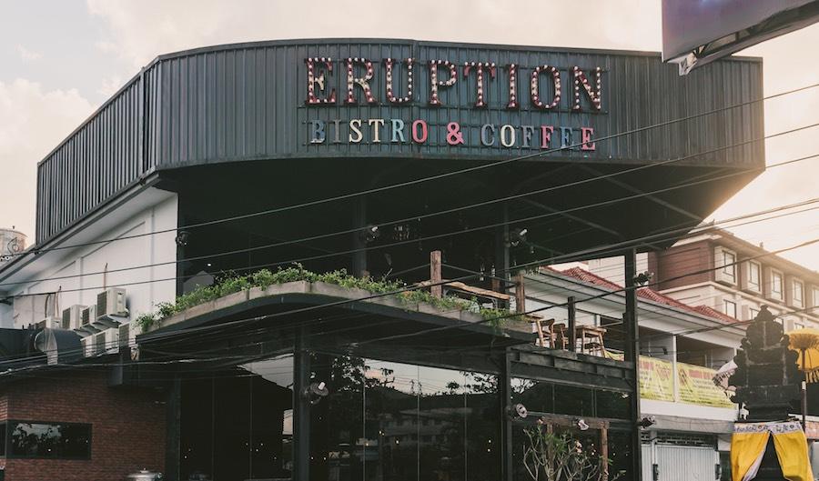 Eruption Bistro & Coffee Exterior