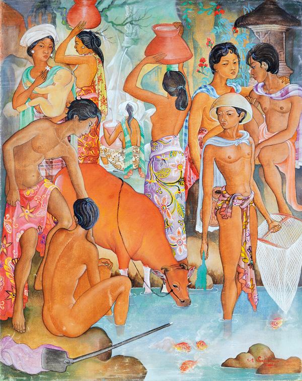 Auction of art in Bali Larasati Auctioneers