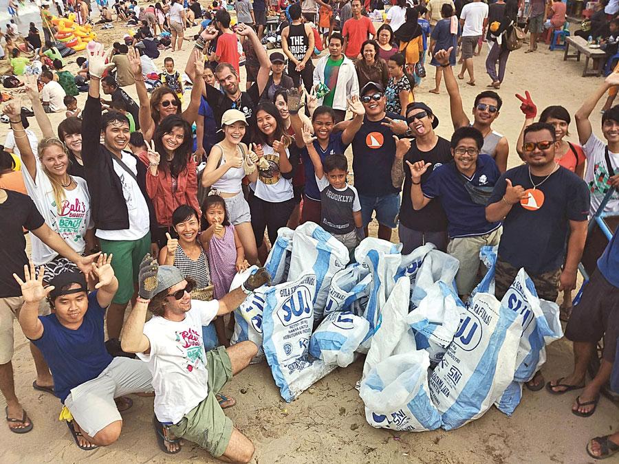 Bali Biggest Clean Up Sanur