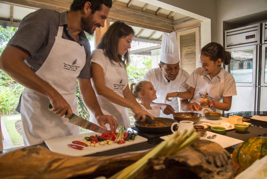 Cooking classes for kids in bali