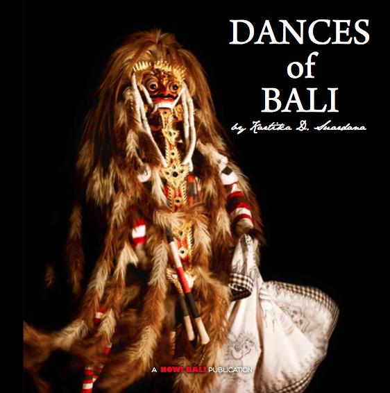 Dances of Bali 2014 Books about Bali