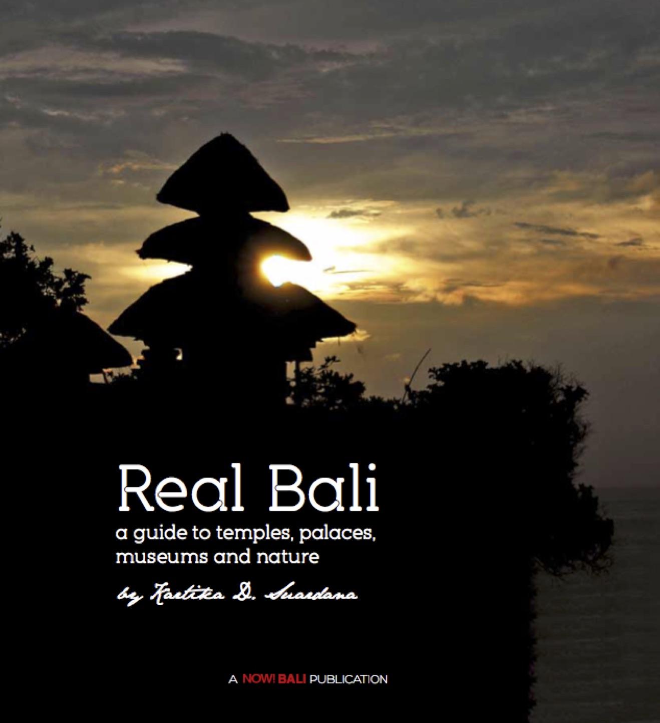 Real Bali Book - books about Bali