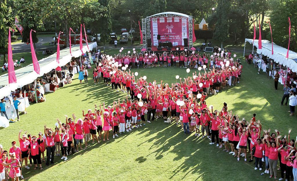 WO - Bali Pink Ribbon Walk