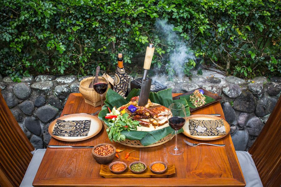 Butcher Board Alila Ubud Restaurant