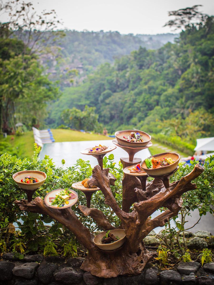 Treejstafel Alila Ubud Restauranta
