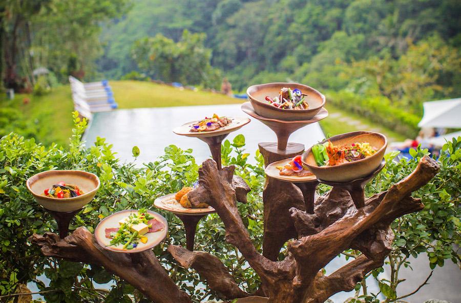 Treejstafel Alila Ubud Restaurant