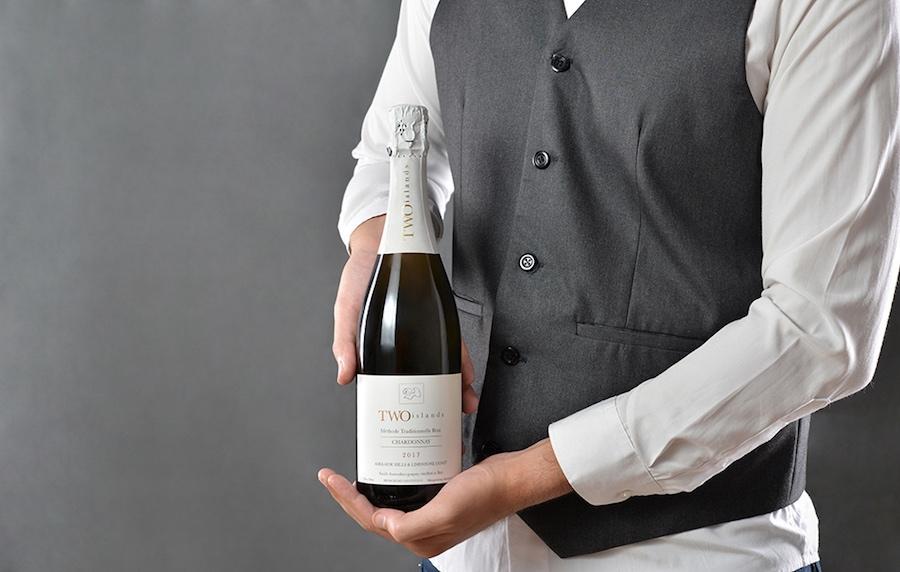 Two Islands Sparkling Chardonnay Bali Wine