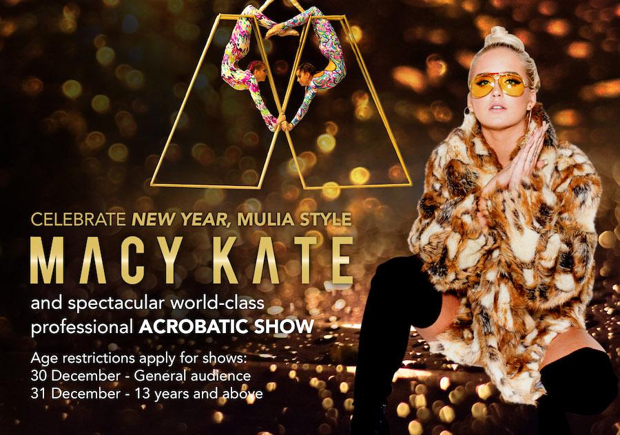Macy Kate in Bali Mulia New Years Eve 2018