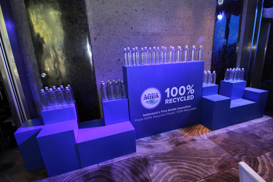 Water Company AQUA Introduces 100% Recycled Plastic Bottles to Bali 3