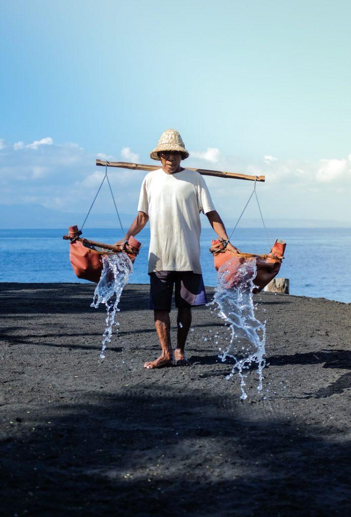 Bali Sea Salt in Klungkung