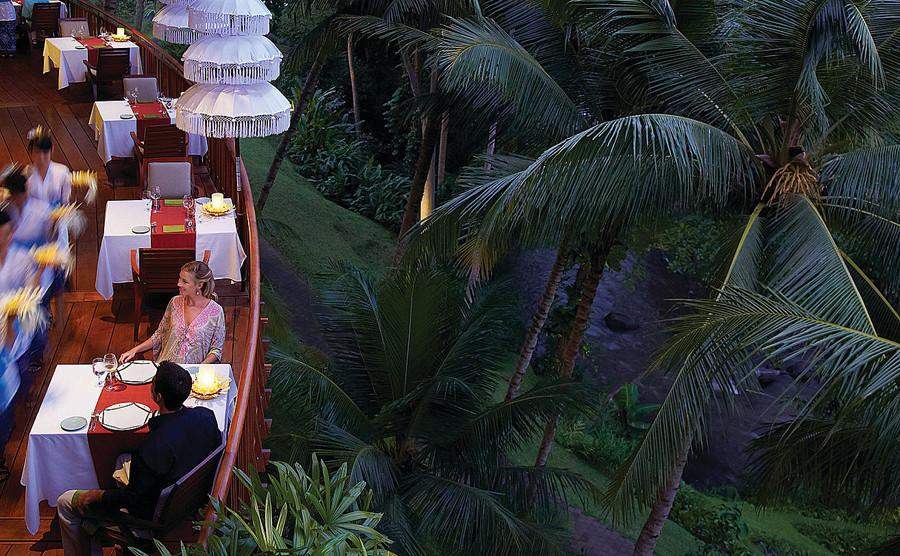 Ayung Terrace Four Seasons Resort Food in Bali
