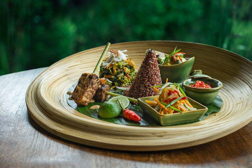 Fivelements Vegetarian restaurant in Bali