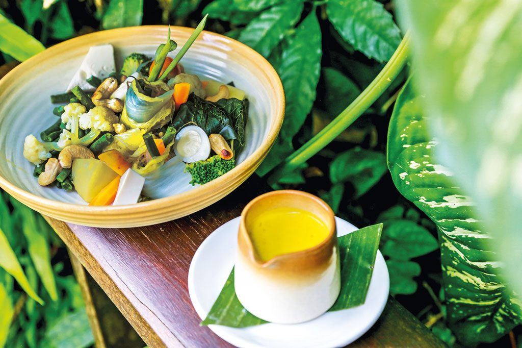 River Cafe Ubud Vegetarian Restaurant in Bali