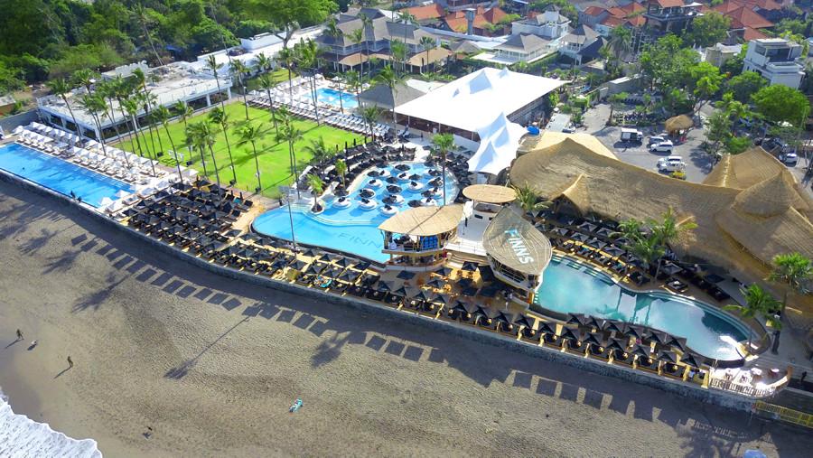Finns VIP Beach Club Bali Canggu 1